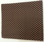 "BROWN POLKA DOT - 18"" x 22"" Fat Quarter"